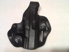 Desantis Pancake Holster 3 slots Glock 38 Right Hand. Black Leather