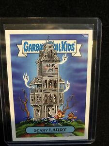 2014 Garbage Pail Kids SERIES 1 79b SCARY LARRY Autograph GPK Brent Engstrom