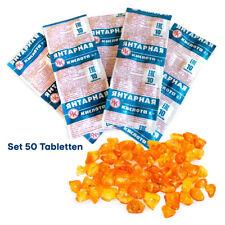 50 Tabletten Bernsteinsäure je 100 mg Amber Acid Succinic Янтарная кислота