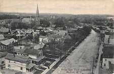 Medina New York Birdseye View Of City Antique Postcard K45495