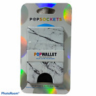 Popsockets - Popwallet Premium Credit Card Holder White/BlackMarble *CHOOSE*