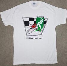Vintage 1988 7Up Spot Catch Rays T Shirt Retro 80S Mascot Soda Drink Funny Xl