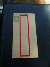China Pre-Paid Cover 5c Dr Sun Yat Sen Red Band 1938?