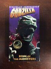 Godzilla, King of the Monsters (VHS, 1998) Raymond Burr