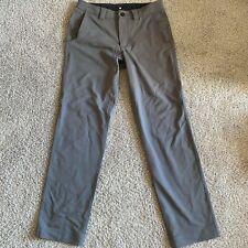 Lululemon Mens gray pinstriped pants size 34x30