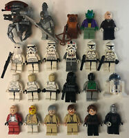 Lego Star Wars Lot Of 23 Minifigures