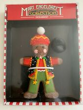 Mary Engelbreit Christmas Collection Ornament Gingerbread Boy - New