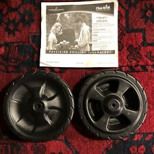 (2) Two Char Broil Grill Wheels 6 inch part 7000262 Performance Series Grill