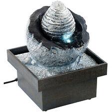 """Wasser-Brunnen: Zimmerbrunnen """"Wasserspiel"""" mit Pumpe und LED, ca. 17 cm"""