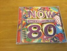 NOW THAT'S WHAT I CALL MUSIC! 80 ** 2011 UK Original 2 CD Set BUY 3 & GET 1 FREE