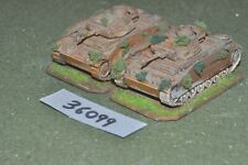 20mm WW2 / german - 2 panzer III tanks - vehicles (36099)