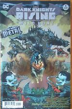 Dark Knights Rising The Wild Hunt #1 Metal Foil Cover