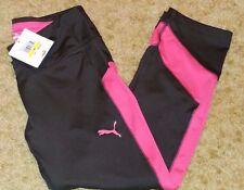 Puma Women's Yoga Pants Keep It Going Capri  Sz M