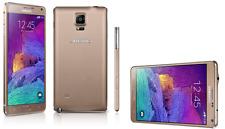 BNIB Samsung Galaxy Note 4 SM-N910T Gold - 32GB - (Unlocked) Smartphone