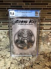 Cobra Kai: The Karate Kid Saga Continues #1 CGC 9.6 1:10 Variant Netflix