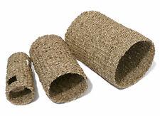 Rosewood Medium Sea Grass Tunnel For Small Animals Hamsters Gerbils