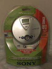 NEW SONY WALKMAN PORTABLE CD PLAYER DNF 400 WITH MP3 ATRAC