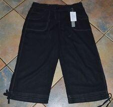Linen Capri, Cropped Trousers Size Petite for Women