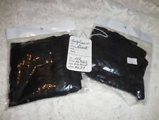 Black Pantyhose W/Hearts~One Size Fits Most~NWT~Free Shipping! Panty Hose