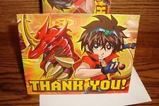 "BAKUGAN Battle Brawlers "" Thank You "" #8 (Eight) Thank you Cards/Envelopes  New"