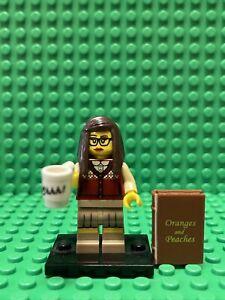 Lego Minifigure Series 10 - Librarian Complete - RARE w/ book shhh cup