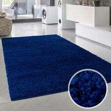 Tapis bleu pour la maison, 150 cm x 150 cm