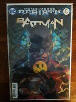 Batman #21-2017 Lenticular 3D Variant cover The Button NM Gemini Shipping
