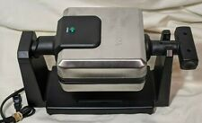 Waring Professional 4 Slice Belgian Waffle Maker WMK250SQ Good Condition!