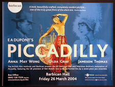 PICCADILLY ANNA MAY WONG E.A. DUPONT R-2004 B.F.I. BRITISH QUAD