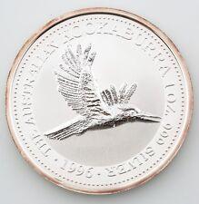 1996 Australian Kookaburra 1 oz. 999 Silver $1 BU Coin Queen Elizabeth II