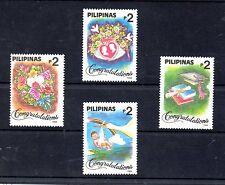 Filipinas Valores de Felicitación año 1994 (BN-724)