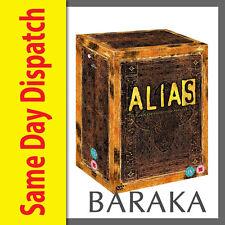 ALIAS COMPLETE SERIES 1-5 DVD BOX SET 30 DISCS R4 NEW SEALED