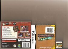 MYSTERY CASE FILES MILLIONHEIR NINTENDO DS FIND HIDDEN OBJECT GAME