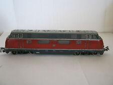 Digital Märklin HO LOCOMOTIVE DIESEL btrnr v200 060 DB rouge foncé (rg/bc/56r2f5-1) - 2def
