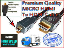 5m Micro HDMI To HDMI Cable for Microsoft Surface Window RT Tablet