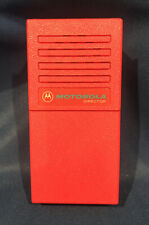 Nos Motorola Director I Pager Red Housing Refurb New