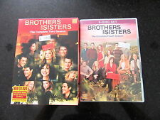 BROTHERS AND SISTERS COMPLETE THIRD / FOURTH SEASON DVD BOX SETS R2