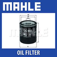 Mahle Oil Filter OC981 - Fits Saab 9-3, 9-5 - Genuine Part