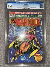 Warlock #9 (1975, Marvel Comics) CGC 9.4