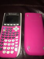 Texas Instruments TI-84 Plus Silver Edition-Pink Graphing Calculator student