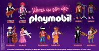 Vibrez au son des Playmobil Quick Spécial Musique 2021 / NEUF sous blister