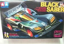 TAMIYA 1:32 MINI 4WD BLACK SABER FULLY COWLED SERIES CON MOTORE  ART 18515