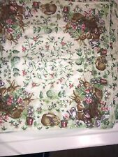 New listing Bunny Rabbit Robins Egg Floral Placemats Set of 4 16�x16�. ✅✅✅
