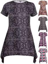Viscose Leopard Plus Size Tops & Blouses for Women