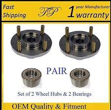 FRONT Wheel Hub & Bearing Kit For MITSUBISHI MIRAGE 1993-2002 (PAIR)