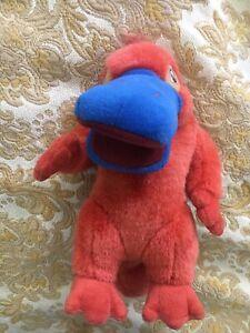 Retro Olympic Games Sydney Sid Syd Platypus Mascot Plush Toy 2000  30cm