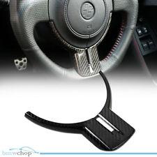 Carbon Fiber Fit For GT86 BRZ FR-S ZC6 ZN6 Steering Wheel Cover Trim