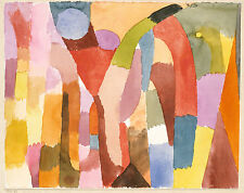 Paul Klee Reproduction: Movement of Vaulted Chambers - Fine Art Print
