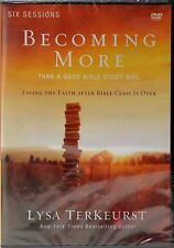 BECOMING MORE THAN A GOOD BIBLE STUDY GIRL - LIVE FAITH AFTER CLASS - DVD - New!