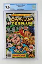 Super-Villain Team-Up #6 - CGC 9.6 NM+ Marvel 1976 - Dr. Doom & Sub-Mariner!